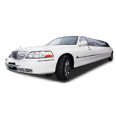 Lincoln Town Car 13 мест Белого цвета